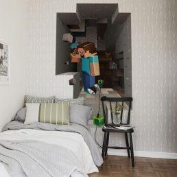 Pokój, sypialnia & przedpokój