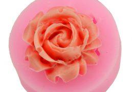 Forma silikonowa - kwiat rozy - 1