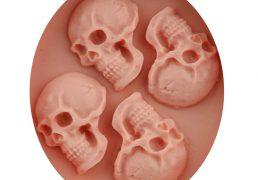 Forma silikonowa - trupie czaszki - 1