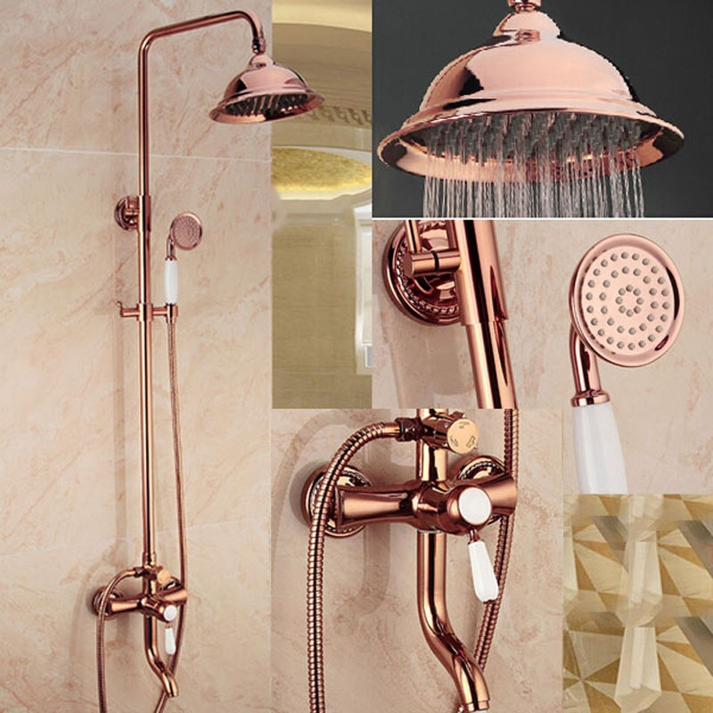 Bateria Prysznicowa Miedziana Piękność Z Kopułową