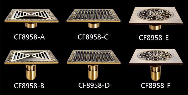 ozdobny-odplyw-kratka-sciekowa-15x15cm-2-rodzaje-syfonow-typy
